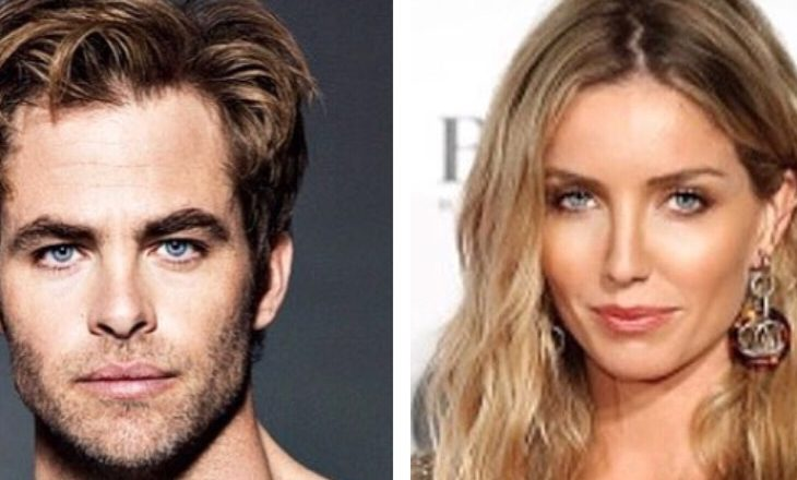 Cupid's Pulse Article: New Celebrity Couple: Chris Pine & Annabelle Wallis Are Dating