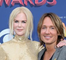 Celebrity Couple Keith Urban & Nicole Kidman Cry Together After He Wins Entertainer of the Year at the CMAs