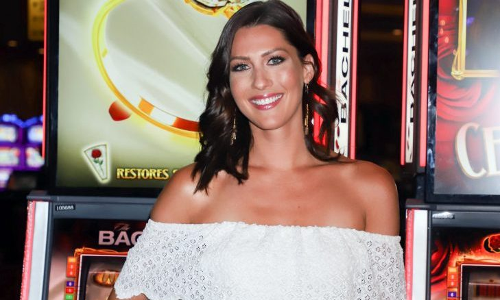 Cupid's Pulse Article: Celebrity News: 'Bachelorette' Becca Kufrin Feels 'Sick' When She Finds Out Colton Underwood Dated Friend Tia Booth
