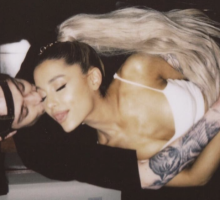 Newly Engaged Celebrity Couple Ariana Grande & Pete Davidson Get Matching Tattoos & Apartment Shop