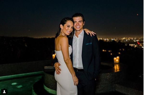 Cupid's Pulse Article: Celebrity Couple Cheryl Burke & Matthew Lawrence Share Engagement Party Pics