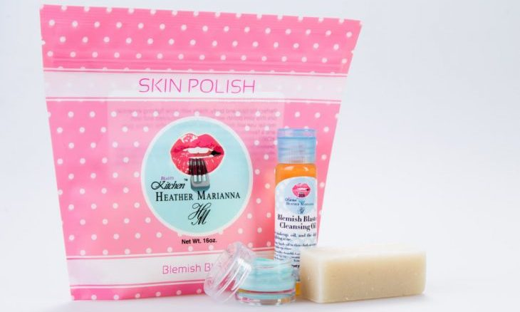 Cupid's Pulse Article: Product Review: YouTuber Heather Marianna's Created Organic Beauty Line, Beauty Kitchen