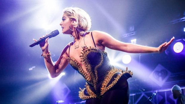 Cupid's Pulse Article: Celebrity News: Designers Say Bebe Rexha is Too Big