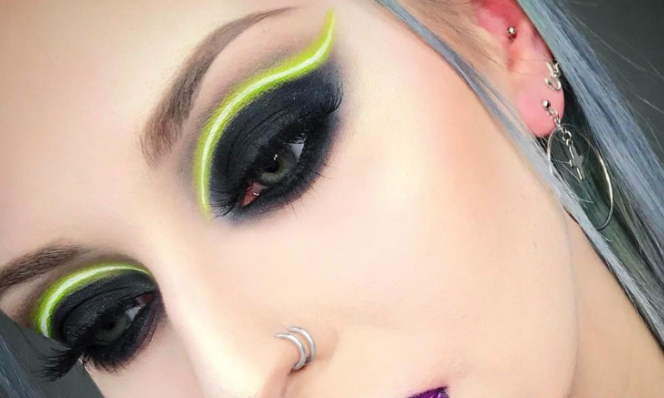 Cupid's Pulse Article: Beauty Trend: Neon Eyeliner