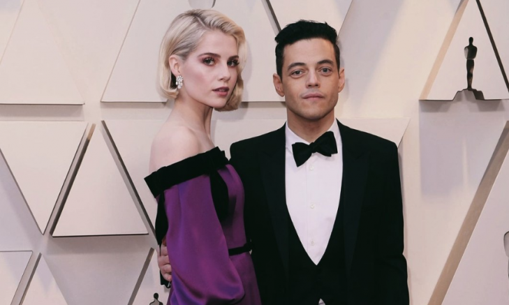 Cupid's Pulse Article: Celebrity Couple News: Rami Malek Gushes Over Lucy Boynton In Oscars Acceptance Speech
