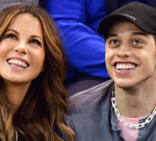 Celebrity Couple News: Kate Beckinsale & Pete Davidson Have Dinner with Her Mom & Step-Dad