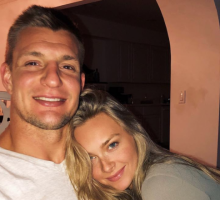 Celebrity News: Ron Gronkowski's GF Is His Biggest Fan After Retirement