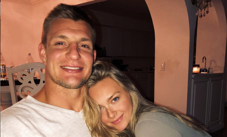 Cupid's Pulse Article: Celebrity News: Ron Gronkowski's GF Is His Biggest Fan After Retirement