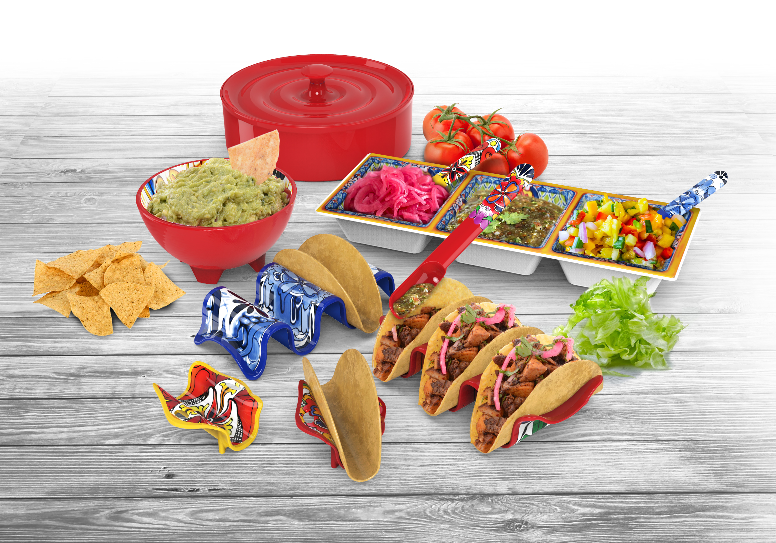 Cupid's Pulse Article: Product Review: Cinco De Mayo with Prepara Taco Accessories!