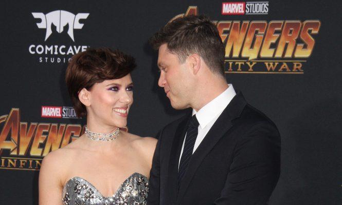 Scarlett Johansson And Colin Jost Engaged Cupid S Pulse