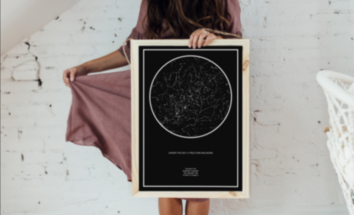 Cupid's Pulse Article: Product Review: The Night Sky Star Maps