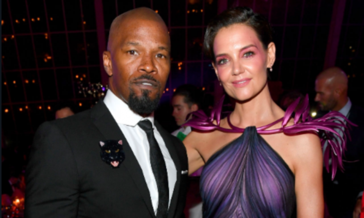 Cupid's Pulse Article: Celebrity Couple Katie Holmes & Jamie Foxx Go Public at Met Gala 2019