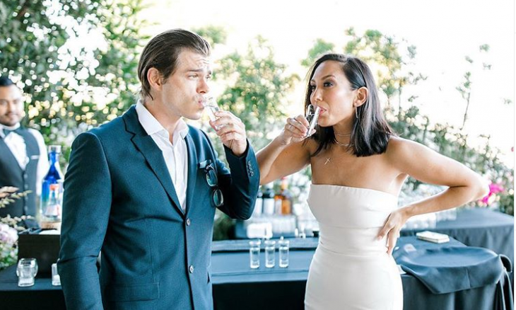 Cupid's Pulse Article: Celebrity Wedding: 'DWTS' Cheryl Burke and Matthew Lawrence Marry in San Diego