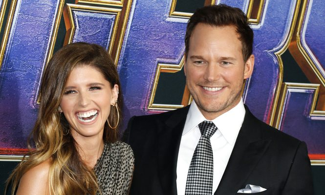 Cupid's Pulse Article: Celebrity Couple News: Katherine Schwarzenegger Calls New Husband Chris Pratt a 'Wonderful Husband' on Father's Day