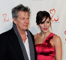 Celebrity Couple Katharine McPhee & David Foster Honeymoon in Italy After London Wedding