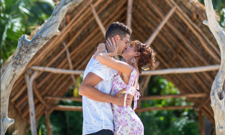 Cupid's Pulse Article: Celebrity Engagement: Sarah Hyland and Wells Adams Are Engaged!