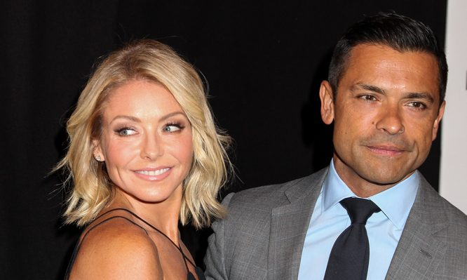 Cupid's Pulse Article: Celebrity Couple Kelly Ripa & Mark Consuelos Send Daughter Off to College