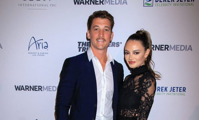Cupid's Pulse Article: Celebrity Wedding: Miles Teller Marries Longtime Girlfriend Keleigh Sperry in Hawaii