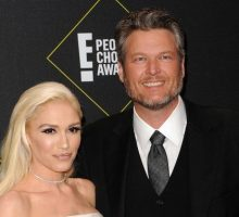 Celebrity News: Blake Shelton & Gwen Stefani Toast to CMT Music Awards 2020 Win