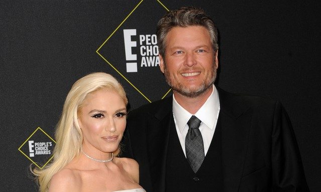 Cupid's Pulse Article: Celebrity News: Gwen Stefani Thanks 'Babe' Blake Shelton at People's Choice Awards