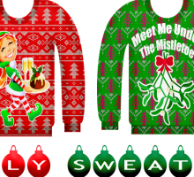 Fashion Trends: Ugly Christmas Sweater Outfit Ideas