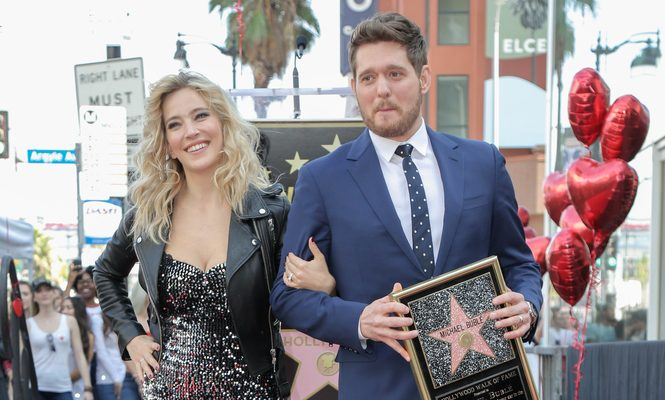 Cupid's Pulse Article: Celebrity Marriage: Michael Buble's Wife Luisana Lopilato Defends Their Marriage After Fans Slam Him for Elbowing Her