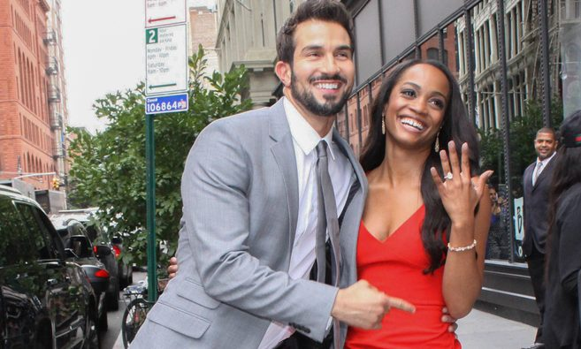 Cupid's Pulse Article: Celebrity Couple News: Former 'Bachelorette' Rachel Lindsay Celebrates 1 Year Anniversary with Bryan Abasolo